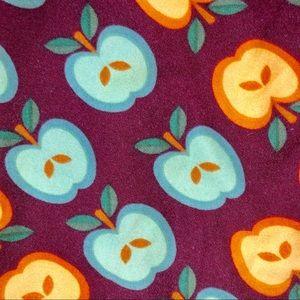 LuLaRoe Pants - LuLaRoe Apple Teacher Leggings OS